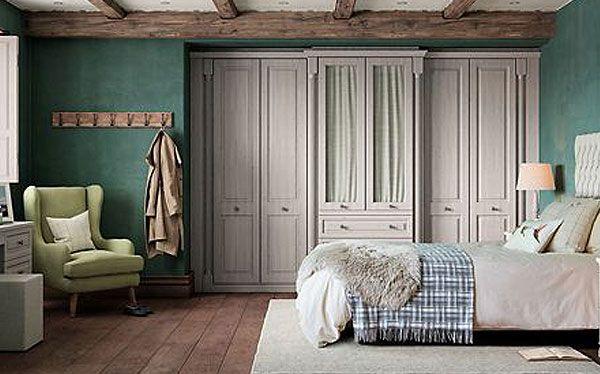 John Lewis Cotswold fitted wardrobe in alpine oak