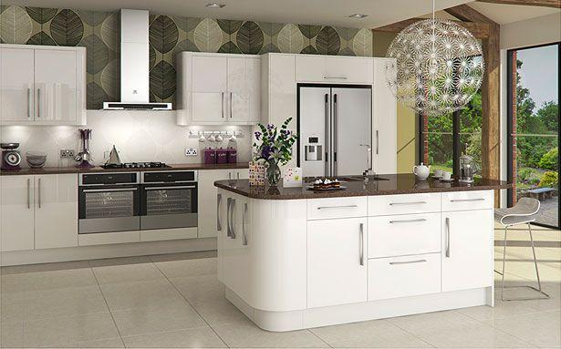 DIY Kitchens Livorna White kitchen