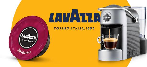 Lavazza pod coffee machine