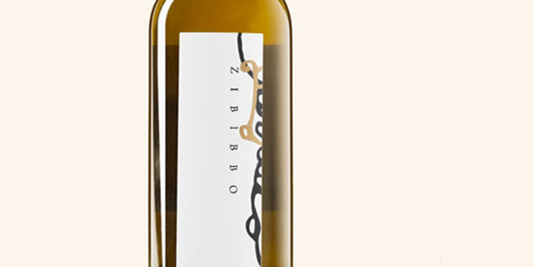 Zibibbo wine label