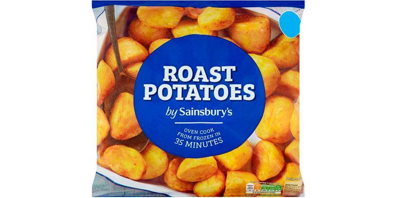 Sainsbury's roast potatoes