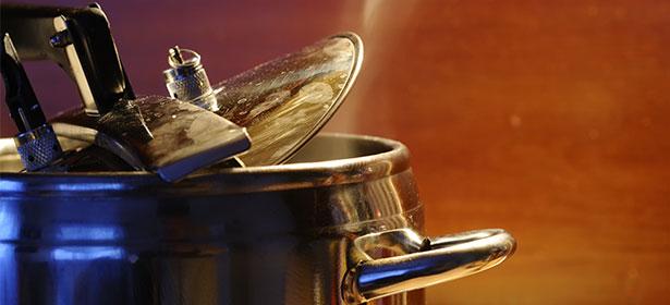 Stove-top pressure cooker