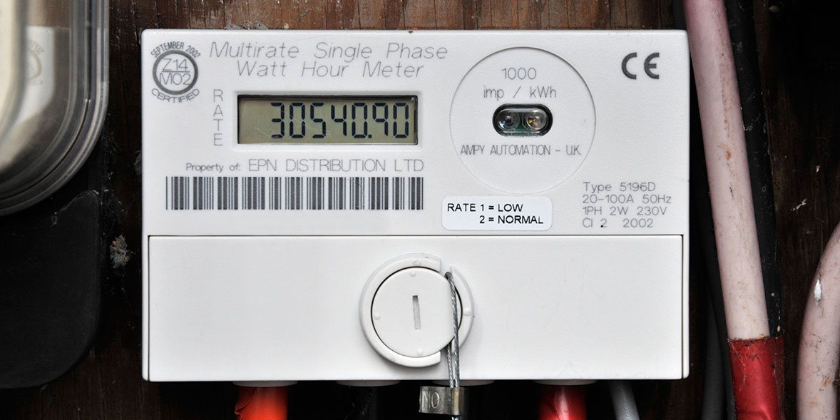 Digital electricity meter