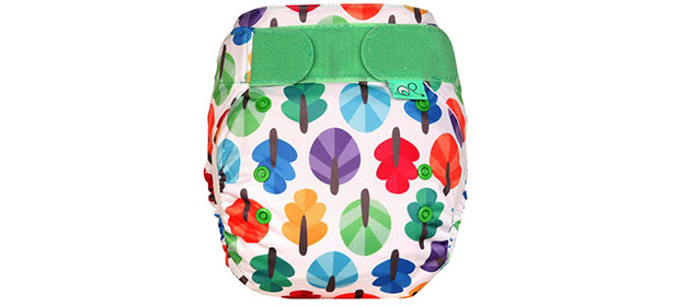 All in one reusable nappy