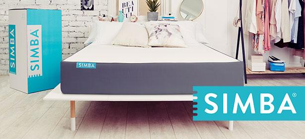 Used_simba hybrid mattress 474156