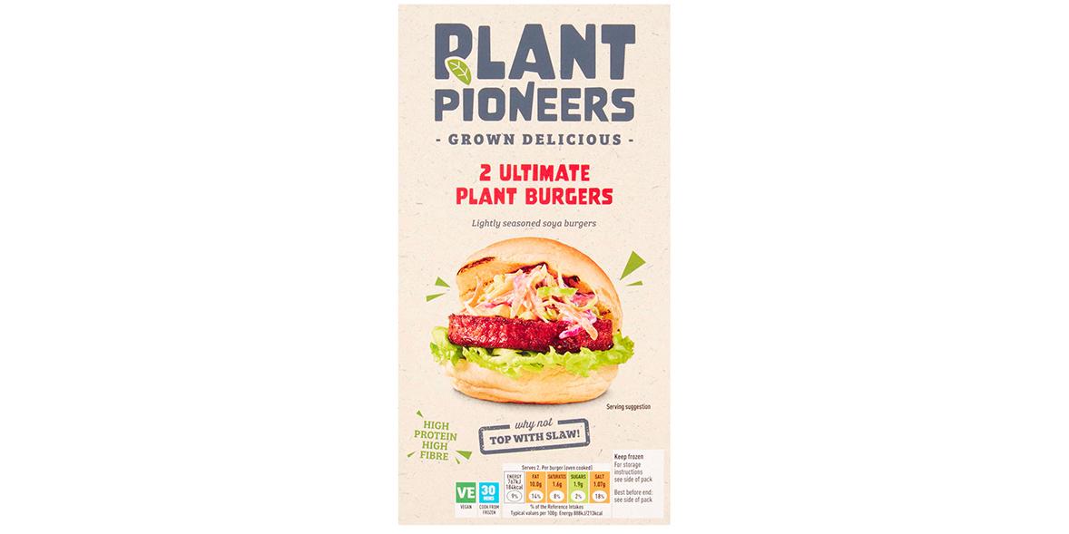 Sainsbury's Plant Pioneers Ultimate Plant Burgers