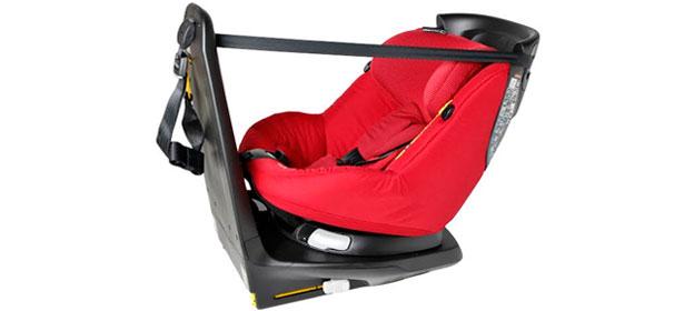 rear facing car seat top tether