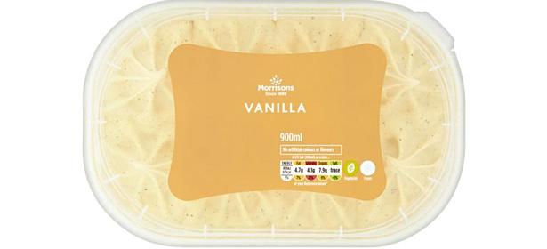 Morrison's Vanilla Ice Cream
