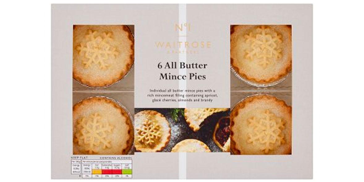 Waitrose No.1 Mince Pies