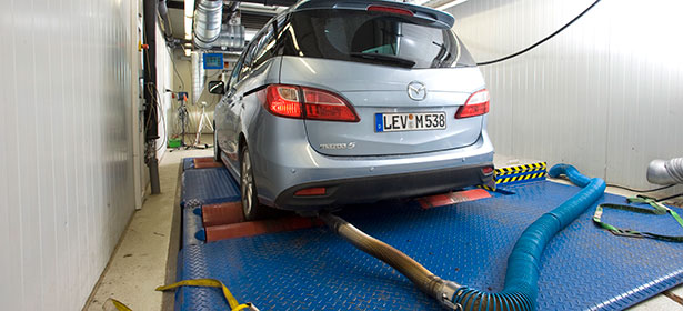 Car emission tests