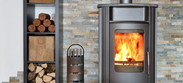 Modern log burner