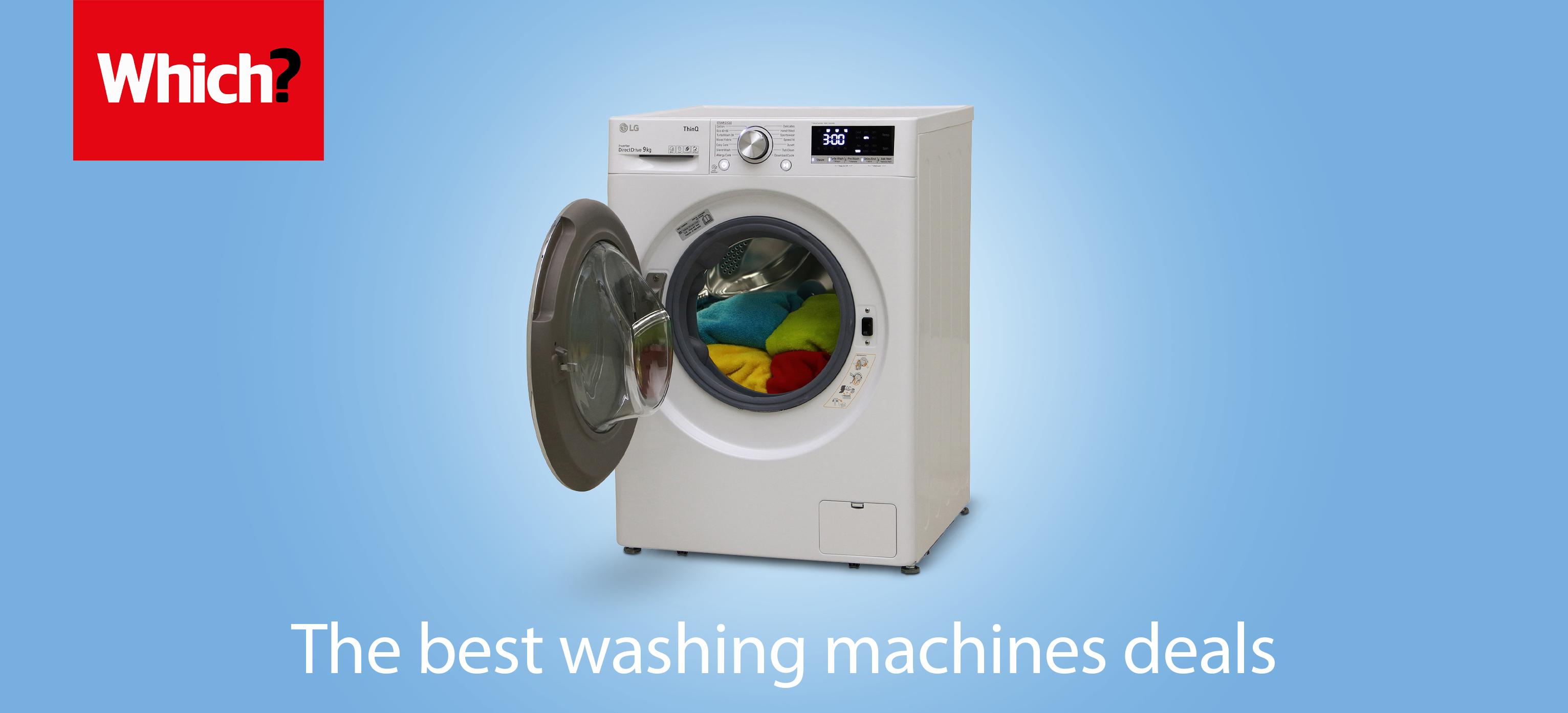 best washing machine deals