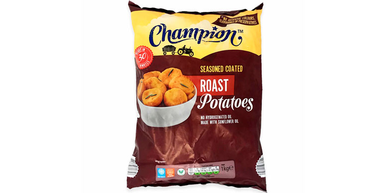 Aldi Champion roast potatoes