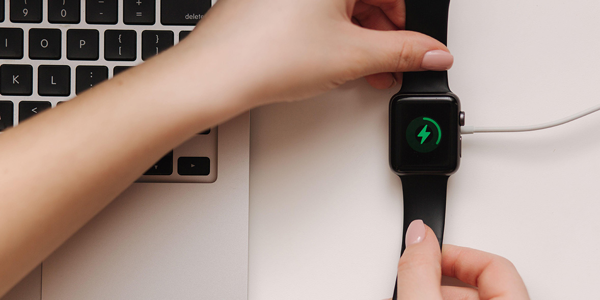 Charging a smartwatch