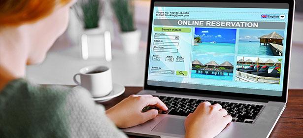 Online hotel scam