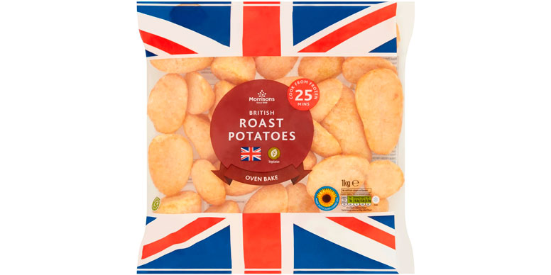 Morrisons British roast potatoes