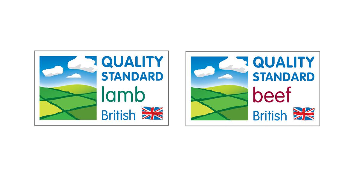Quality standard mark logo