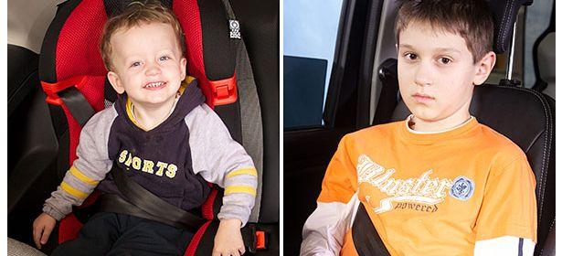 adult seat belt under arm