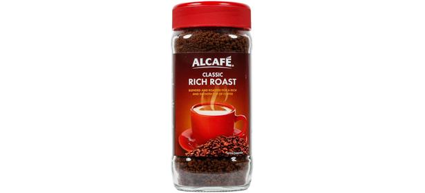 Aldi Alcafé Classic Rich Roast instant coffee