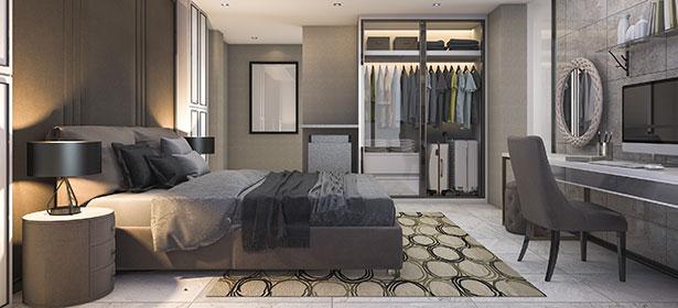 Built in bedroom furniture 488283