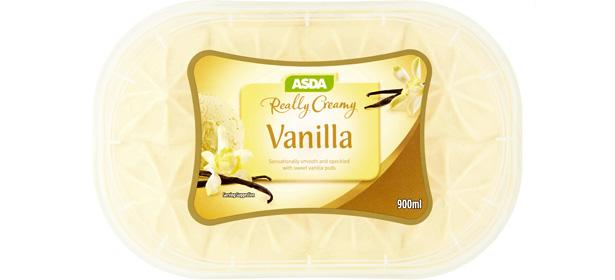 Asda Really Creamy Vanilla Ice Cream