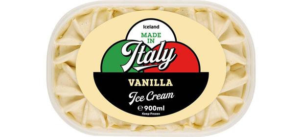 Iceland Made in Italy Vanilla Ice Cream