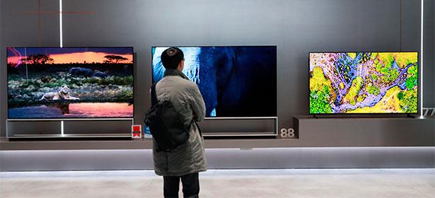LG tvs at ces 2020