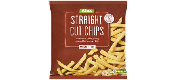 Asda Straight Cut Frozen Oven Chips