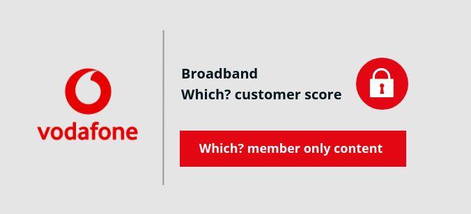 Vodafone Broadband score