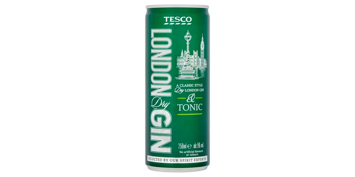 Tesco Gin & Tonic