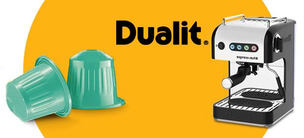 Dualit pod coffee machine