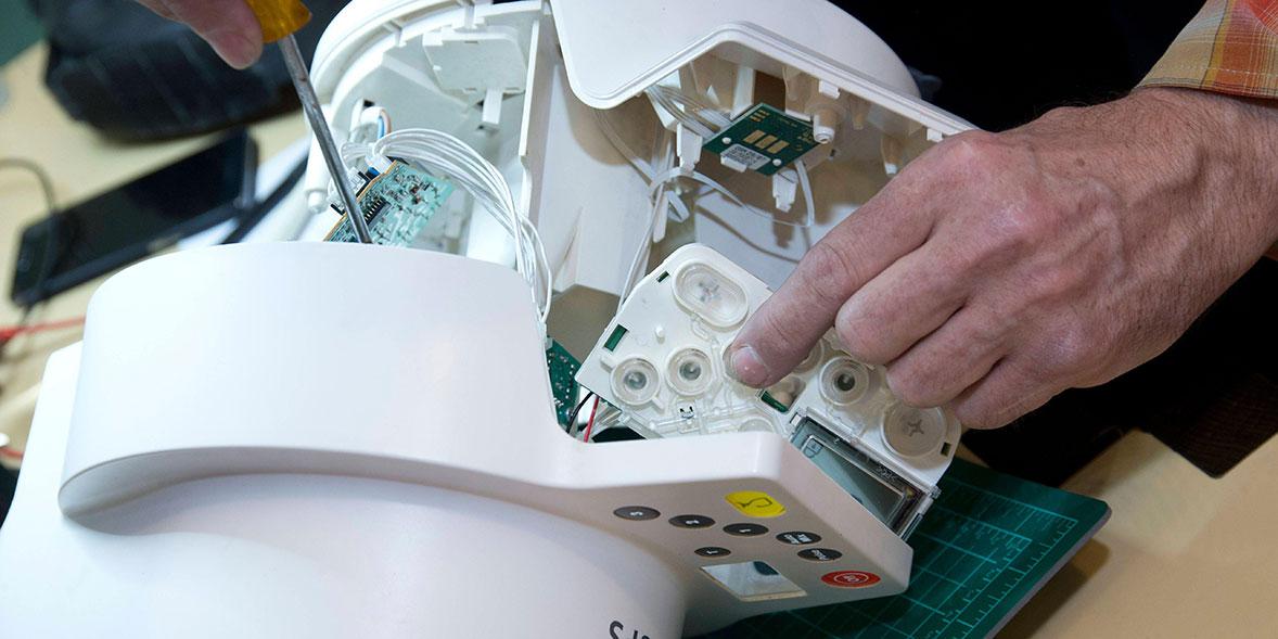 Repairing a food processor