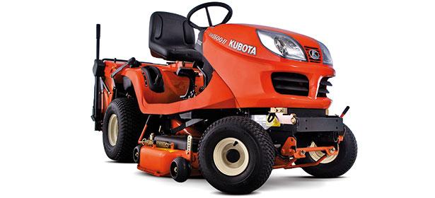 Kubota ride-on lawn mowers