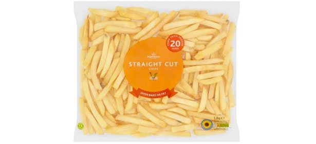 Morrisons Straight Cut Frozen Oven Chips