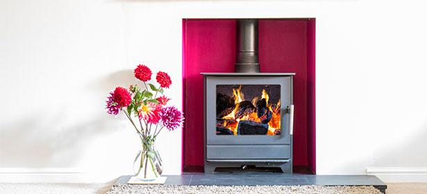 Small wood burning stove 451109
