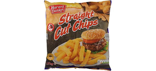 Lidl Harvest Basket Straight Cut Oven Chips