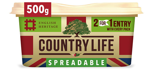 Country life spreadable butter