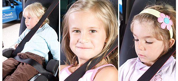 seat belt on neck
