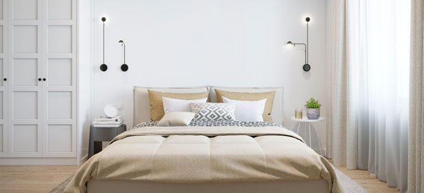 Main bedroom with built in wardrobe 488282