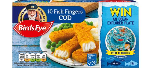 Birds Eye 10 Cod Fish Fingers