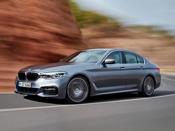 BMW 5 Series 2017 slide