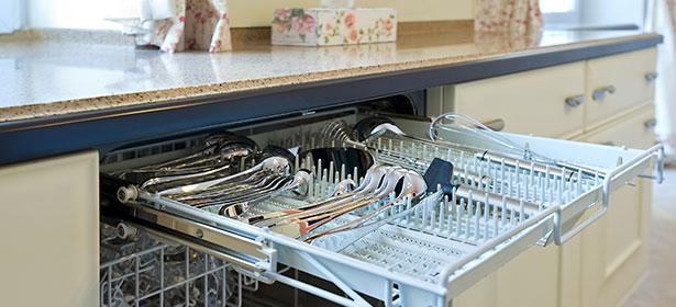 dishwasher cutlery tray
