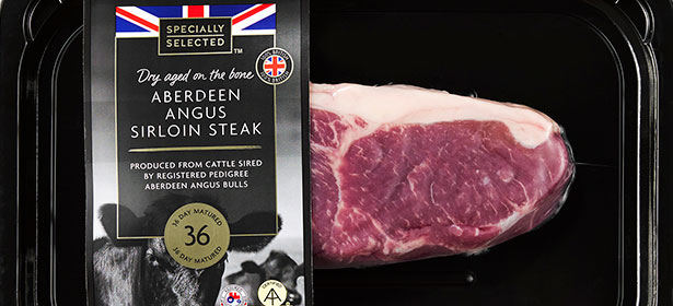 Aldi Specially Selected 36 Day Aged Sirloin Steak