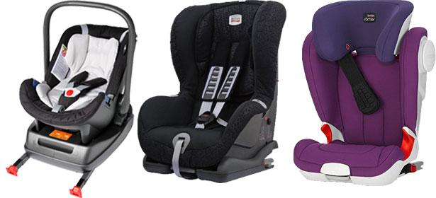types of Isofix child car seats