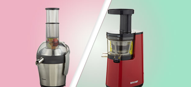 Slow juicers vs fast juicers