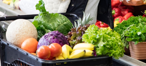 Trolley veggies