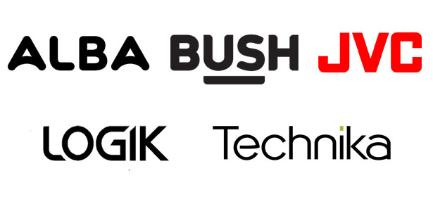 Store brand TVs logos