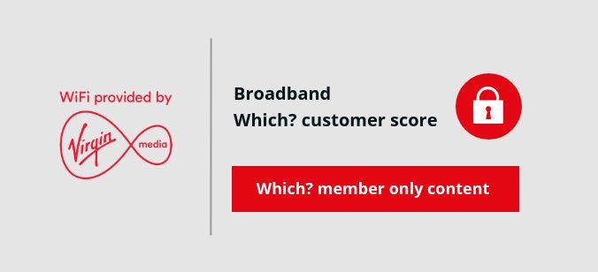 Virgin Media Broadband score