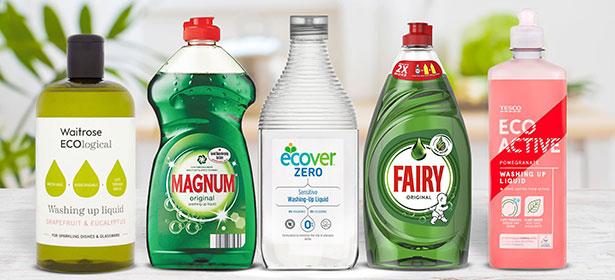 Eco washing up liquid comp