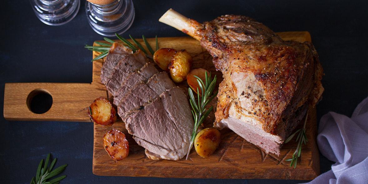 How to roast a leg of lamb